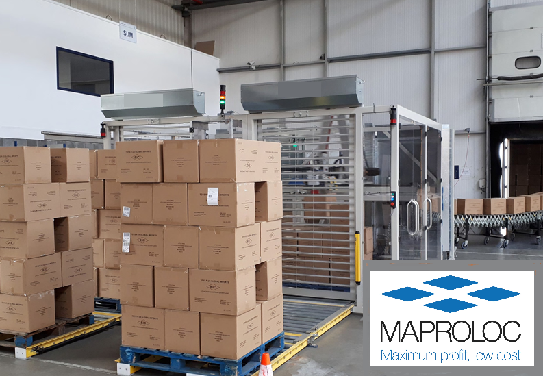 From unloading to pallet wrapping